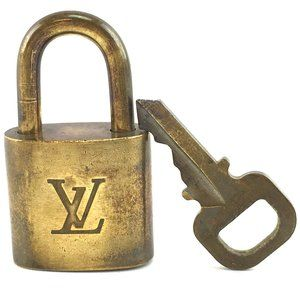 Louis Vuitton Gold Keepall Speedy Lock Key Set#306